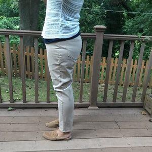 NYDJ Jeans - NYDJ tan denim beige stretchy 16 plus